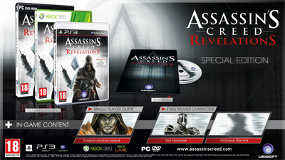 assassin's creed: revolation's collector's edition